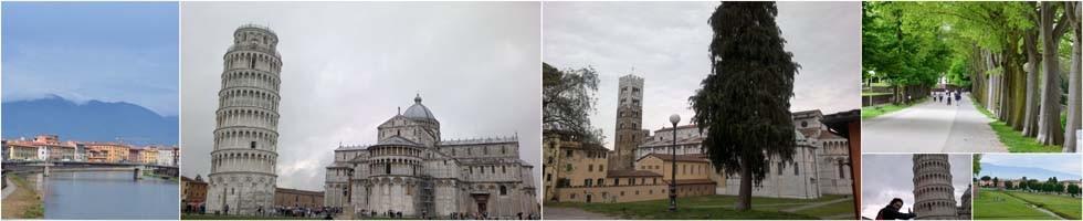 O plimbare prin Toscana - Luca si Pisa