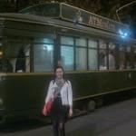 O cină romantică la Milano în.... tramvai